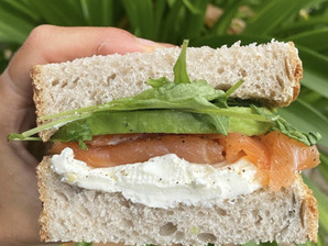 Simple Salmon Sandwich