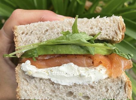 Simple Salmon Sandwich