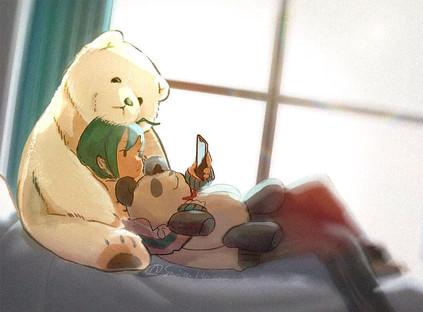 緑仙さんクマ告知画像