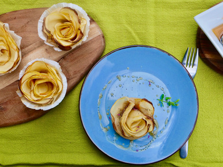 Äppel-Rouse-Muffins (vegan)