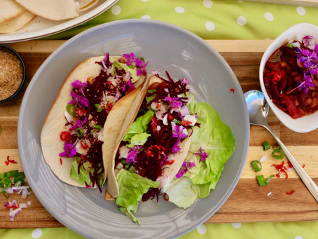 Taco-Tuesday! Vegan Willowherb Tacos!