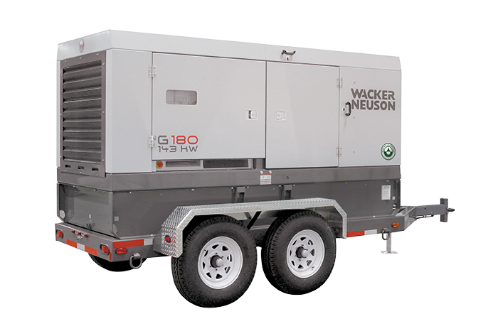 Generador Wacker GP-180