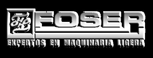 LOGO FOSER METAL maquinaria para constru