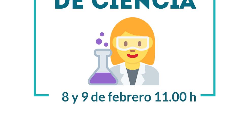 """Taller """"Mujeres de ciencia"""""""