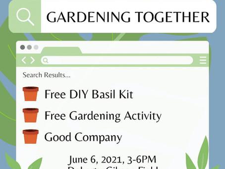NOVA x BLSCD: Gardening Together!