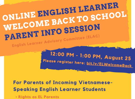 BPS Office of English Learners Message