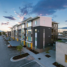 Zwick Construction has completed many multifamily projects throughout Utah, California, Nevada, and Arizona, including the Bud Bailey Apartments.