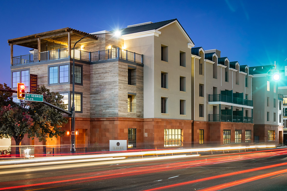 The St. George Zwick Construction team completed the Marriot Advenire Hotel and delivered it in February 2020.