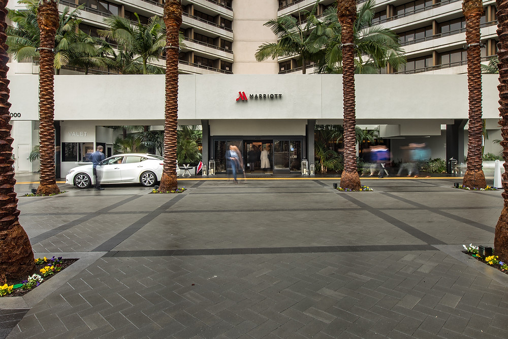 In Summer 2016, Marriott hired Zwick Construction to remodel the front entry way to the main entrance of their Irvine location, a large 485-room hotel.