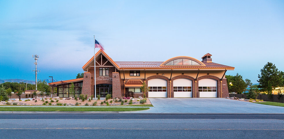 Zwick Construction has completed many municipal projects throughout states like Utah, California, Nevada, and Arizona, including the Riverton Fire Station.