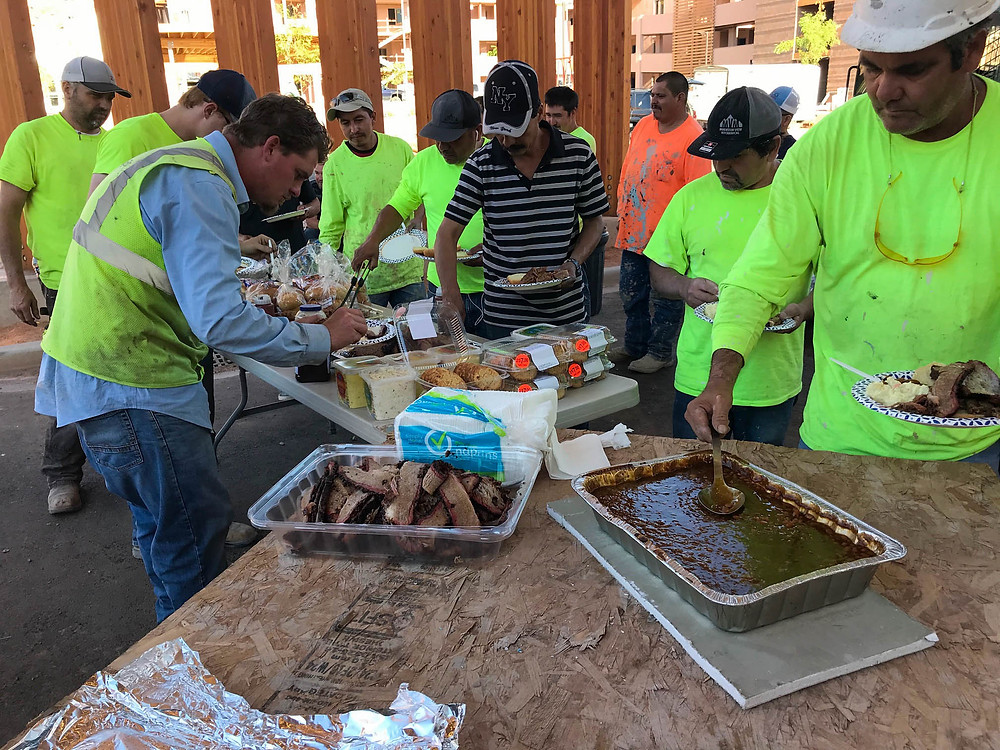 Zwick Construction provided an appreciation dinner for 60 individuals from nine subcontracting firms.