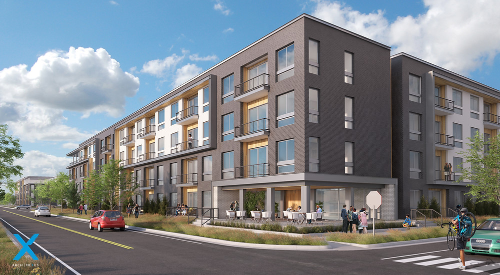 This complex will become the home to a few hundred residents in American Fork, UT. Zwick was recently awarded the project.