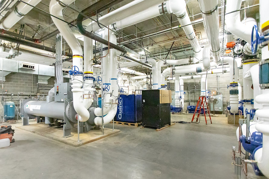 Zwick Construction has completed many industrial construction projects throughout states like Utah, California, Nevada, and Arizona, including the BYU Library Chiller Replacement project.