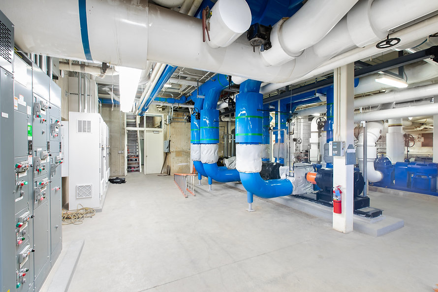 Zwick Construction has completed many industrial projects throughout Utah and California, including the BYU Absorption Chiller.