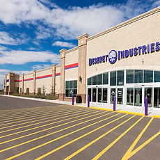 Zwick Construction has completed many retail projects throughout states like Utah, California, Nevada, and Arizona, including the Deseret Industries.