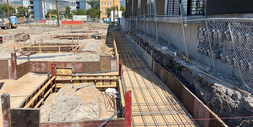 The Salt Lake City team working on the Slate Apartments just hit their three-month mark on the project, and they have been making great progress.