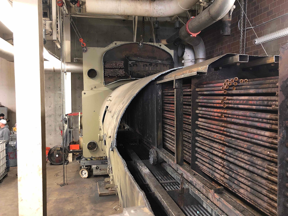 Zwick Construction was hired by BYU to replace two absorption chiller that provide cooling to the campus.