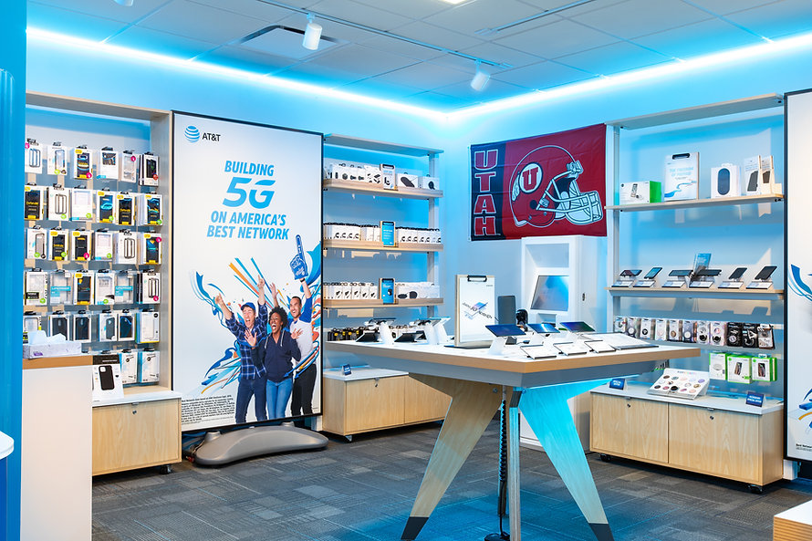 Zwick Construction has completed many retail projects throughout states like Utah, California, Nevada, and Arizona, including several AT&T locations.