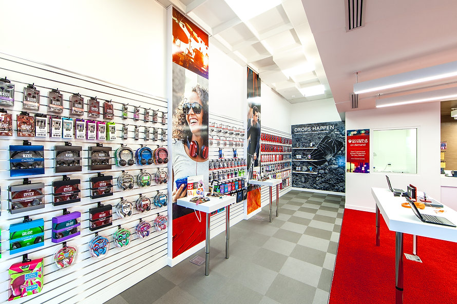 Zwick Construction has completed many tenant improvement projects throughout states like Utah, California, Nevada, and Arizona, including the ZAGG Retail Store.