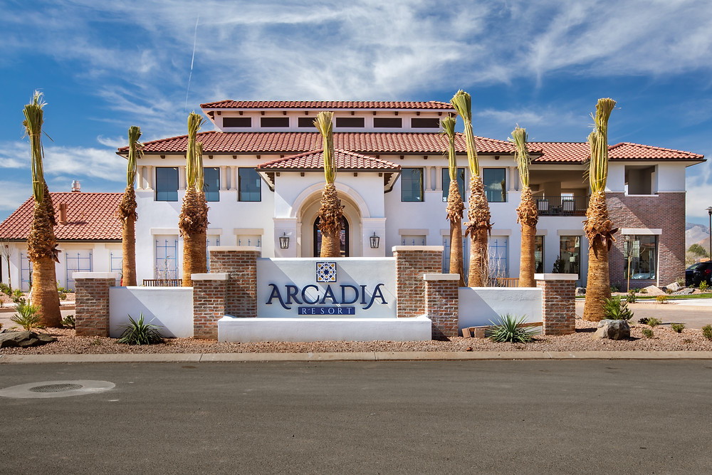 The Arcadia Vacation Clubhouse and Pool is a well-loved amenity of the Arcadia Village. It was completed by Zwick Construction one year ago.