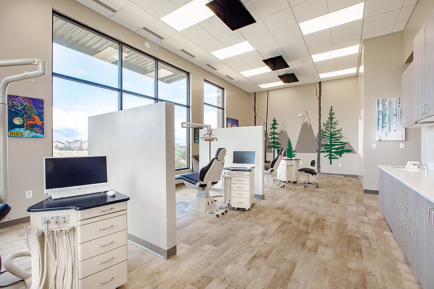 Peak Orthodontics is just one of many medical and senior care construction projects completed by Zwick Construction.