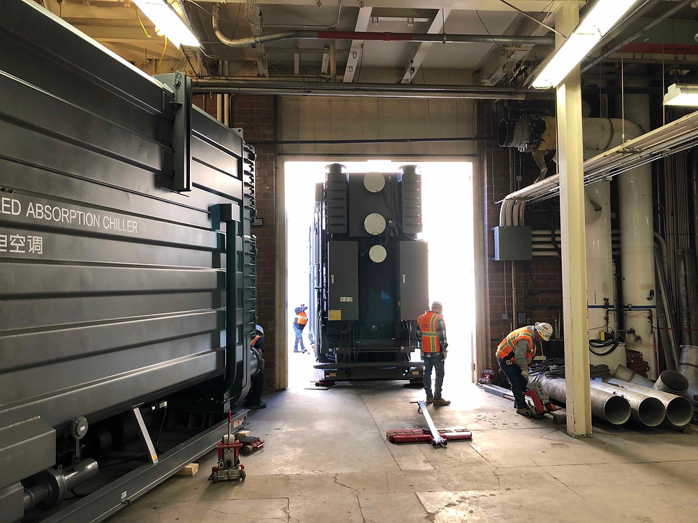 Zwick Construction was hired by BYU to replace two absorption chillers that provide cooling to the campus.