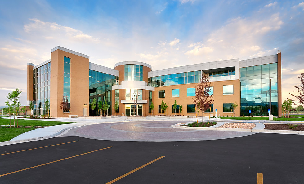 The Deseret First Credit Union Operations Center is just one of many office construction projects completed by Zwick Construction.
