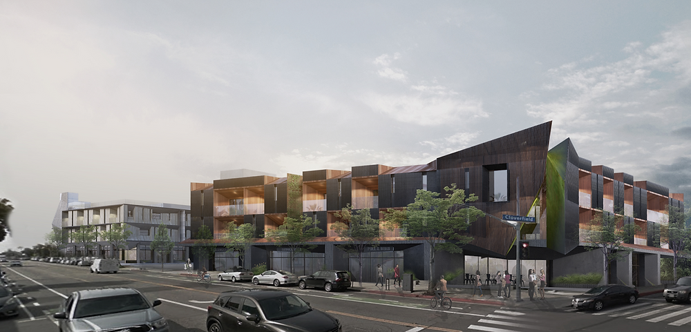 In just under one year, Santa Monica, CA will welcome three new apartments complexes: Broadway, Cloverfield, and Yale.