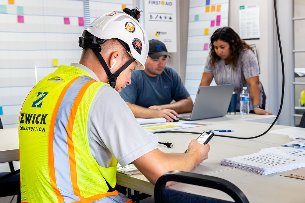 Zwick Construction will begin using a training app, Tyfoom, as part of the new learning and development program, aimed to help employees become familiar with Zwick and industry best practices.