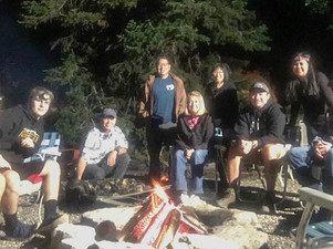 Accounting Team Spends Time in Mountains