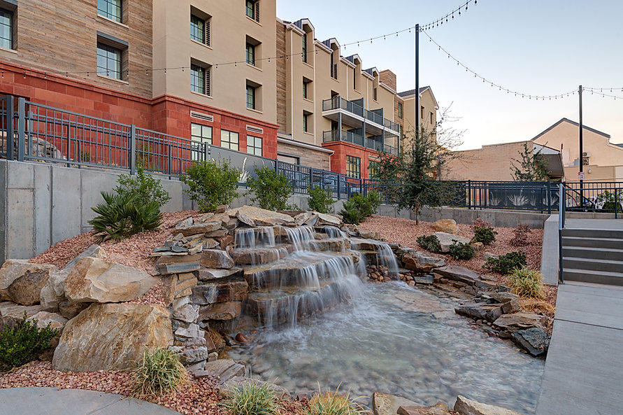 Zwick Construction has completed many hospitality construction projects throughout states like Utah, California, Arizona, and Nevada, such as the Marriott Advenire Hotel.