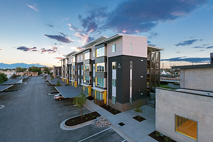 Like with the Bud Bailey Apartments, Zwick Construction is committed to producing sustainable projects.