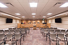 Zwick Construction has completed many remodel/expansion construction projects throughout states like Utah, California, Arizona, and Nevada, such as the Iron County Courthouse.