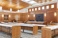The BYU Law School Courtroom is just one of many remodel/expansion construction projects completed by Zwick Construction.