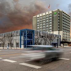 Zwick Construction has completed many hospitality construction projects throughout states like Utah, California, Arizona, and Nevada, such as Holiday Inn Parking.