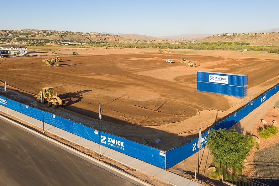 Zwick Construction is working on many current projects throughout Utah and California, such as the Brookfield Apartments in St. George, UT.