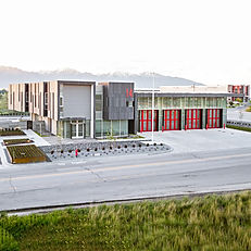 The Salt Lake Fire Station 14 is one of Zwick Construction's preconstruction projects that is a national ENR award-winner.