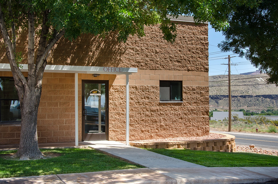 The Hurricane City Power building is just one of many municipal construction projects completed by Zwick Construction.