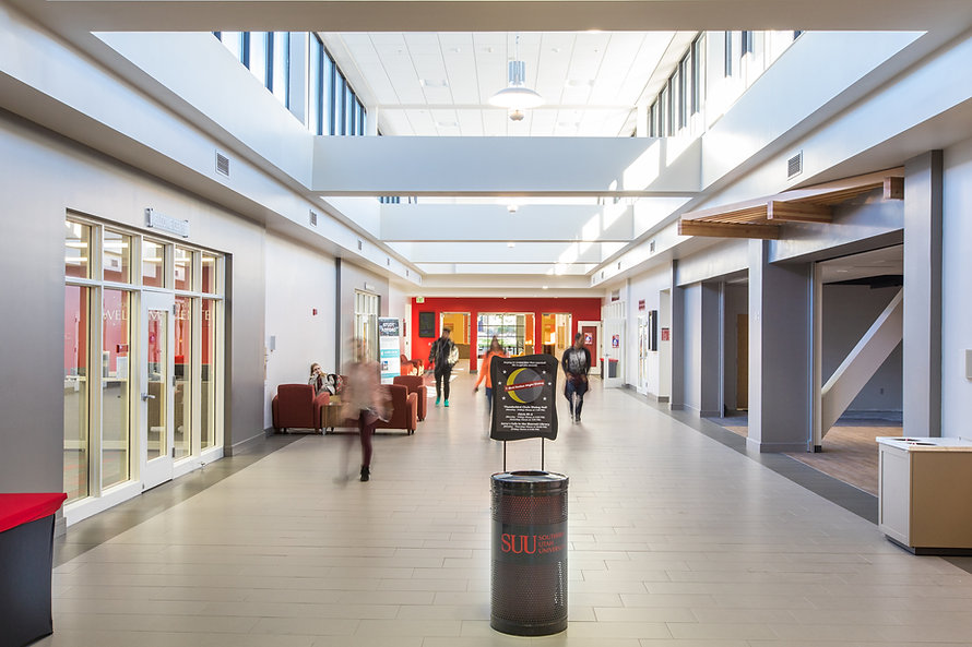 Zwick Construction has completed many educational construction projects throughout states like Utah, California, Nevada, and Arizona, including the Southern Utah University Sharwan Center Addition.