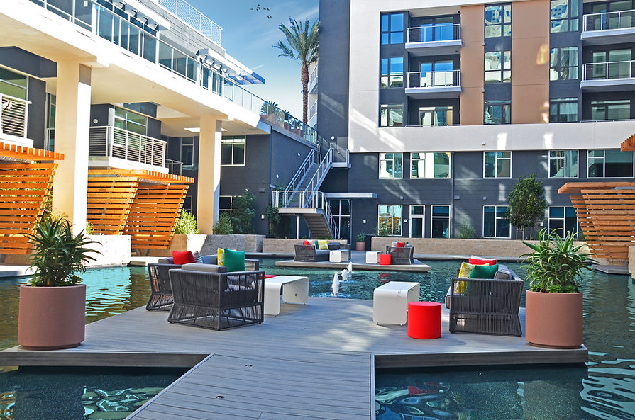 Zwick Construction has completed many multifamily projects throughout states like Utah, California, Nevada, and Arizona, including the Lennar OceanAire apartments.