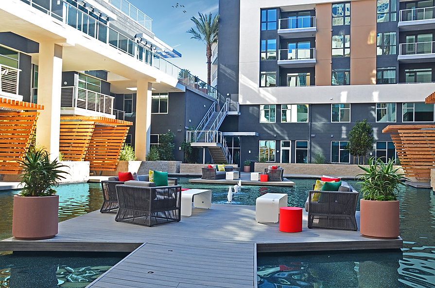 The Lennar OceanAire apartments is one of Zwick Construction's multifamily projects in California.