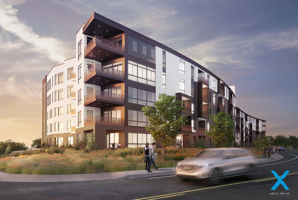 The Stack Apartments will be completed by Zwick Construction.