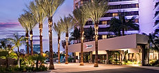 The Marriott Irvine Entry is just one of many hospitality construction projects completed by Zwick Construction.