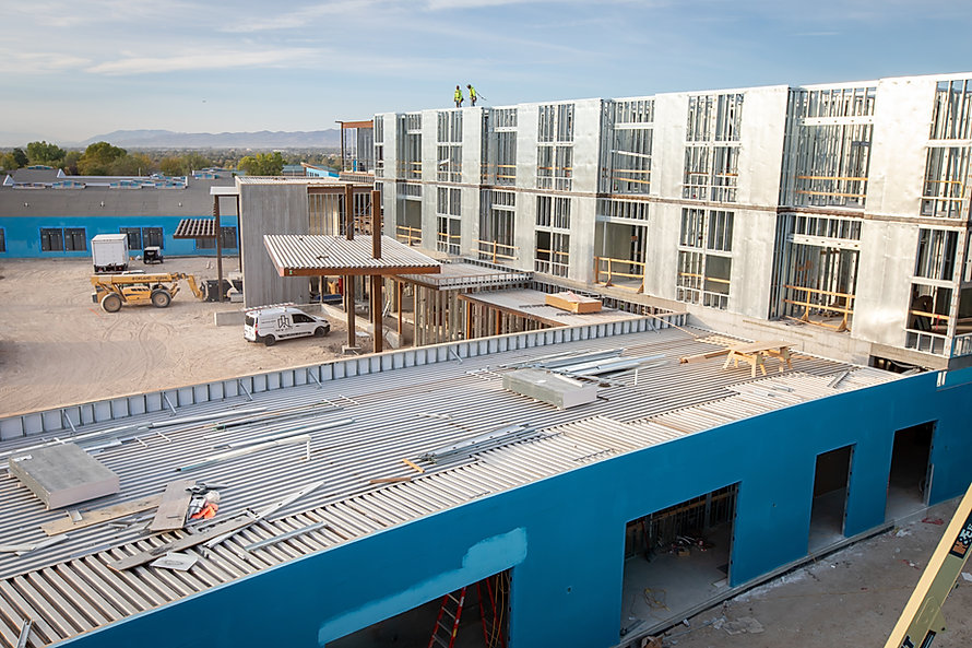 Zwick Construction is working on many projects throughout Utah, California, Arizona, and Nevada, including the Meadow Peak Medical Center.