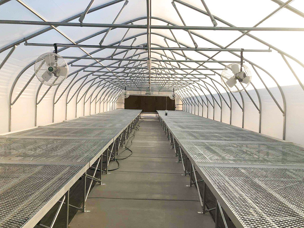 Zwick Construction delivered a large greenhouse for an owner in Salt Lake City, UT.