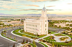 Zwick Construction has completed many religious construction projects throughout Utah, Oregon, and Florida, as well as internationally, such as the Cedar City Temple.
