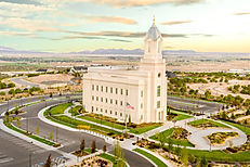 The Cedar City Temple is just one of many religious and culutral construction projects completed by Zwick Construction.
