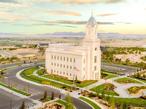 Cedar City Utah Temple Delivered