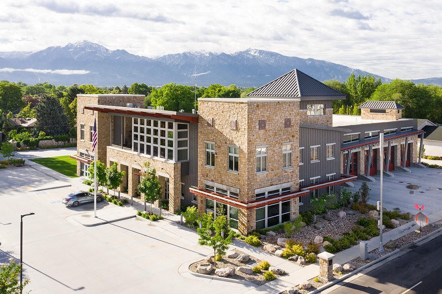 Zwick Construction has completed many municipal projects throughout states like Utah, California, Nevada, and Arizona, including the Taylorsville UFA Station.