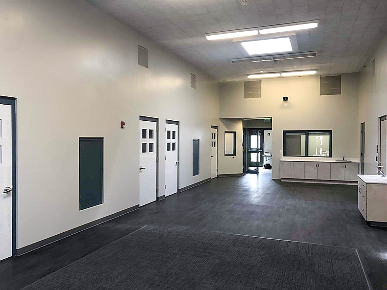 The Dixie Detention Center is just one of several tenant improvement projects by Zwick Construction.